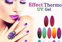 Geluri UV Thermo I Love Nails www.ilovenails.ro / Testeaza iarna cu #gelurile #thermo #ILoveNails in culori stalucitoare si perfect #pigmentate