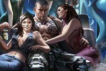 NPC / Shadowrun/Science Fiction/Cyberpunk/Fading Suns/DSA/Fantasy