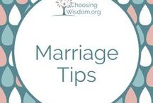 """""""Marriage Tips"""" / Ideas for strengthening marriage 