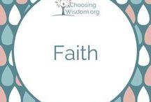 """""""Faith"""" / All things that promote Faith"""