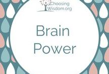 """""""Brain Power"""" / The power behind our brain is amazing. It has the ability to do more than we THINK. Mindset, Belief System, Train your Brain, Mind Over Matter, Mental Health"""