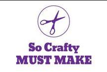 So Crafty - Must make / by Pepper Ferguson