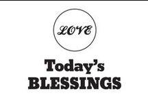 Today's Blessings / by Pepper Ferguson
