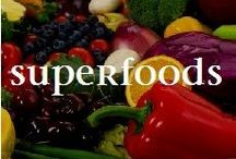 "SUPERFOODS SUPER DIET / Superfoods are a special category of foods found in nature that are packed with lots of antioxidants, vitamins, minerals and essential nutrients - nutrients we need but cannot make ourselves.  By definition they are calorie sparse and called ""super"" because they have a higher concentration of healthy ingredients than the average. Disease is an imbalance in the body. YOU have the power to heal yourself. Reach out and help yourself to Nature's Pharmacy."