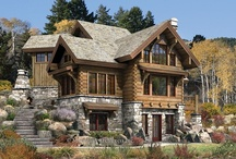 Log Homes / Incredible workmanship on these outstanding Log Homes.