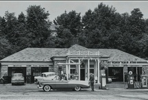 OLD GAS STATIONS, PUMPS, SIGNS, & RACING / OLD GAS STATIONS, PUMPS AND SOME OLD GAS SIGNS, & VINTAGE RACING