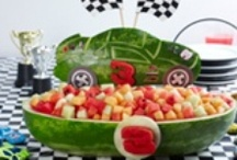 FOOD ART / MAKING COOL THINGS FROM WATERMELONS, CHEESE, BUTTER, ECT.