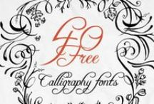 Fabulous Free Fonts / by Susan Chapman