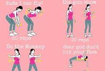 Fitness / by Kasey Badzinski