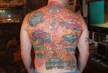 """Car """"Tattoos"""" / CAR TATOOS / by Rick Adams"""