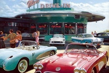 Car Hops & Drive Ins  / OLD DRIVE IN  RESTAURANTS, and car hops / by Rick Adams