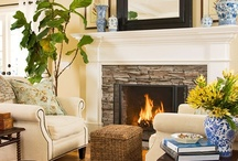 Fireplace Designs / by Stacy Lavender