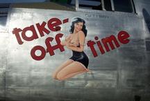 Aircraft Nose Art - WW2 till Today  / Flying Art in a War Zone