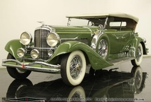 Cars- Duesenberg / A literally handbuilt car of the late 20's that remains amazing 90 years later!!!