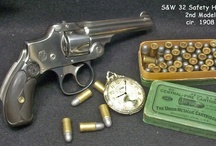 """Smith & Wesson Firearms- All Eras / I just LOVE these things!! They combine the intricate engineering of a swiss watch with the ability to go """"BOOM""""!!!"""