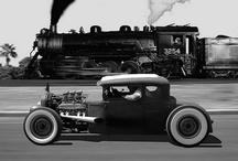 Cars-Ratrods, Hotrods & Choppers / It's an art to make Krylon flat black look sexy.....