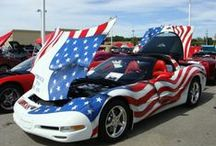 DRIVING MISS GLORY / DRIVING PATRIOTIC PAINT SCHEMES