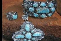 Turquoise Jewelry  / I have always admired the look of Navajo turquoise jewelry.