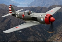 """Aircraft- Soviet WW2 / The """"Russkies"""" in the air back when they were our allies."""