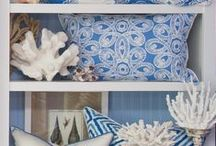 Blue and White / Shades of Blue with White are a great color combination for your coastal condo or home in Singer Island, Florida. / by Singer Island Lifestyles