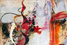 my work: Encaustic