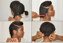 Hairspiration: Natural (style) / Here are some styles that can be done on natural hair!! There are some cool pictorials also so it's not just the end product but step by step! Enjoy! -CKG / by Cassandra Kay