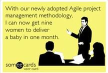 Work | Project management / Quotes, funnies, infographs, etc. about project management, team work and leadership