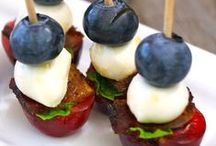 4TH OF JULY RECIPES / RED WHITE & BLUE RECIPES.