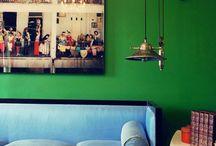 Coloured Walls