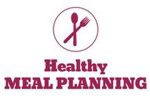 Healthy Meal Planning / Premade meal plans, printable meal plans, healthy meal plans, tips on how to meal plan, and more.