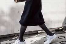 Just for kicks / Skirts and sneakers