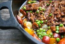 STEWS, STEWS, STEWS / THERE'S A WHOLE LOT OF COMFORT HERE!  STEW RECIPES GALORE!