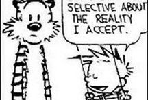 Fun | Calvin & Hobbes / I love Calvin & Hobbes! So much humour and wisdom in the strips. Fun for kids and grownups, too