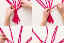 Inspiration | DIY ... / Do It Yourself ideas