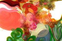 my work: gouache/acrylic paintings