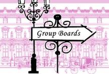 ♥♥ Fabulous GROUP BOARDS ♥♥