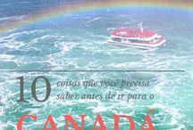 Canada / Canadá, Canada, Vancouver, Toronto, Montreal, Quebec, Niagara Falls, Banff, Lake Louise, Lake Moraine