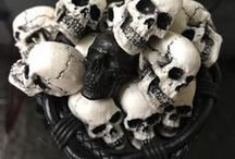 skulls for road / original design, image, hand made products for car, motorcycle