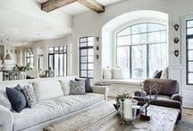 Home Decor and Design / Ideas for home decor and design. Traditional, glam, farmhouse and other contemporary ideas for home design and decor.