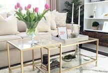 Accent Tables / Accent Tables. Inspiration for furniture to build. DIY cheap and thrifty style.