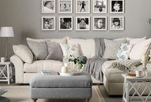 Family/Living Room / Furniture and decor for family or living room. Inspiration for DIY family room decor and furniture. Transitional, contemporary, farmhouse and glam ideas for family room decor.