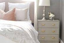 Master Bedroom / Ideas for master bedroom design. Inspiration for DIY furniture and decor.