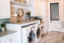 Laundry Room / Laundry room hacks and DIY laundry room upgrades/makeovers. Cheap, thrifty and chic DIY. Laundry room fixes and upgrades.