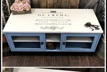 Printables and Transfers / Free printables - spring, Easter, holiday, farmhouse, etc. How to do a transfer on furniture.