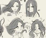 Oooh... Your Hair Smells So Good. ;'3