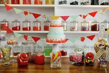 PARTY | Sweet Shoppe / I just love this theme for a little girl's party!  So many beautiful ways to present it.