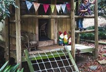 kids spaces & places / Inspirational childrens bedrooms and play spaces.  / by Kate Mc Rugg
