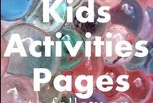 *Toddler Fun* / Fun sensory play activities and recipes, games, etc. / by Shantalina Tyler