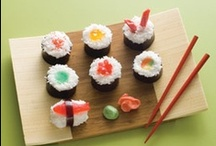 """sushi"" / by Rachel Noble"