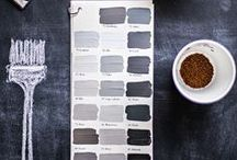 paint / Gray, how do I love thee? Let me count the shades. / by Kate Mc Rugg